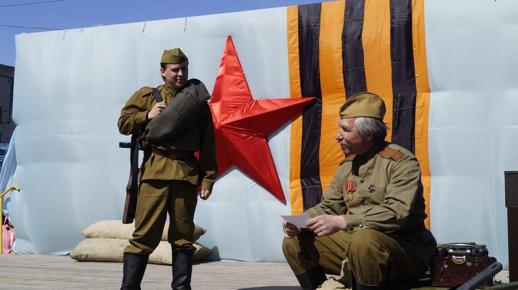 Театрализованный концерт «Я – солдат, Я – Победитель!»
