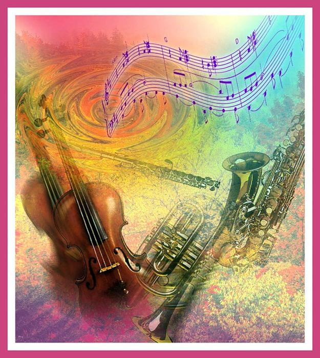 Музыкальная открытка