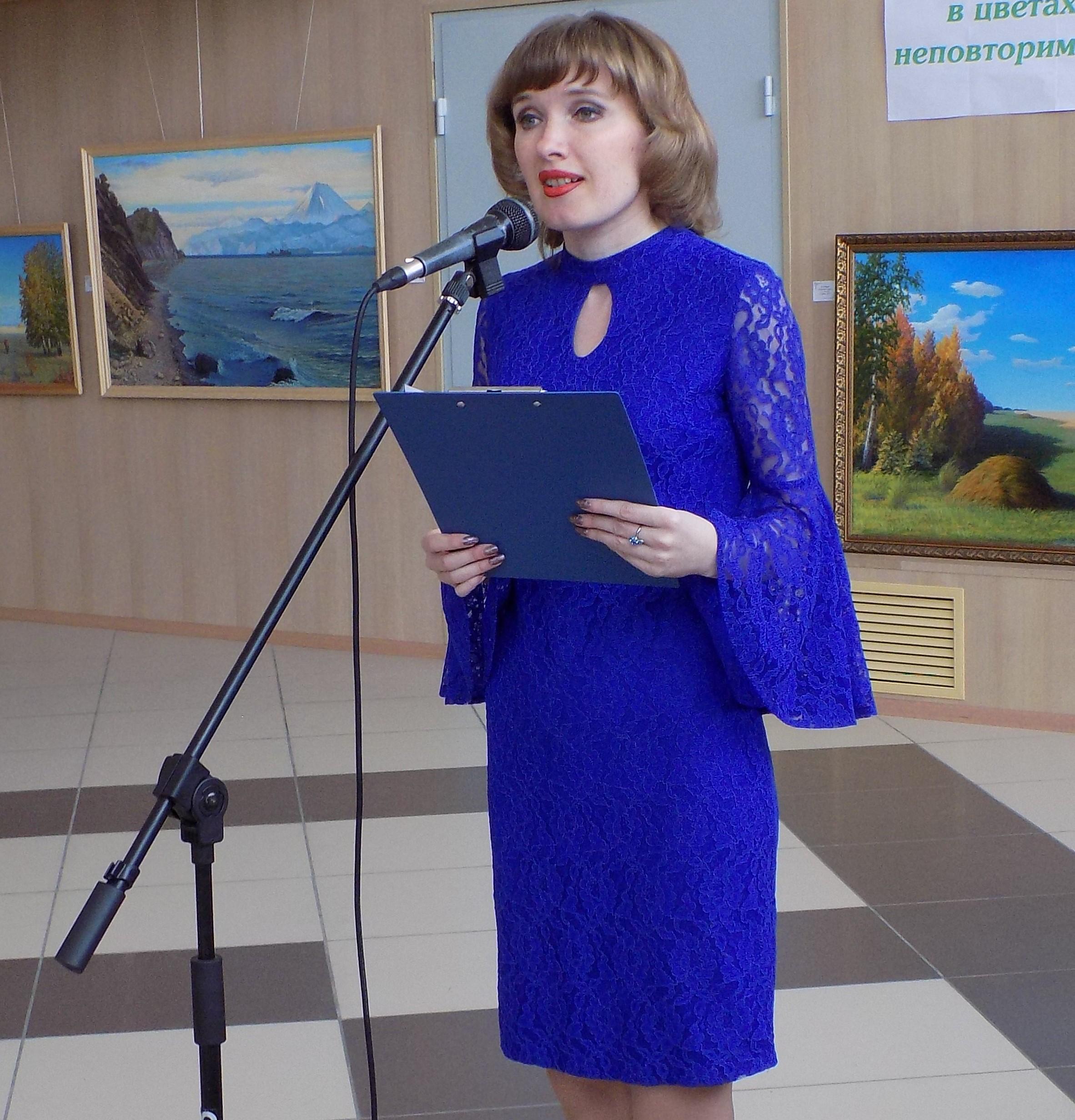 Персональная выставка Н.И Шмидт