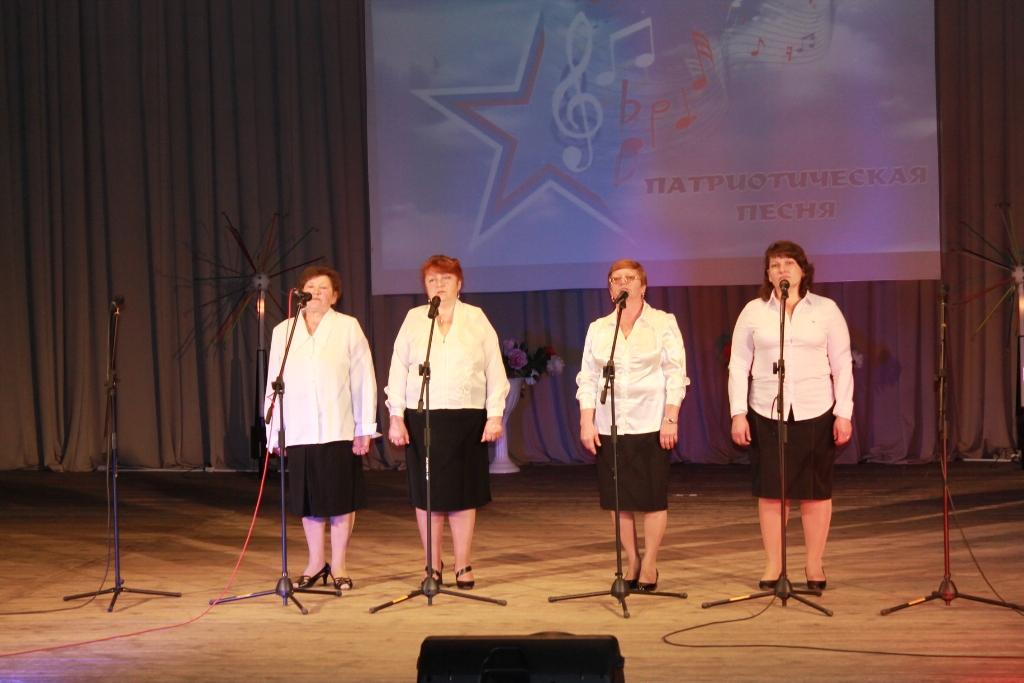 """Впервые в районе состоялся конкурс """"Битва вокальных ансамблей"""""""