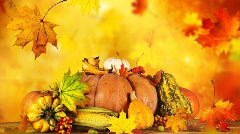Жители Сидоровки встречают осень с улыбкой