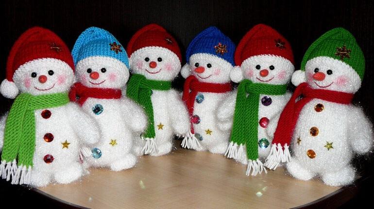 «Снежный десант» - мастер-класс по изготовлению снеговиков из подручных материалов