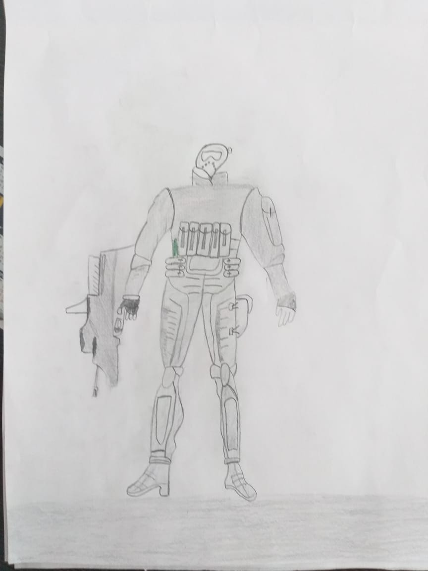 """""""Аты-баты,мы солдаты!"""" - юные дизайнеры продолжают нас удивлять оригинальными рисунками"""