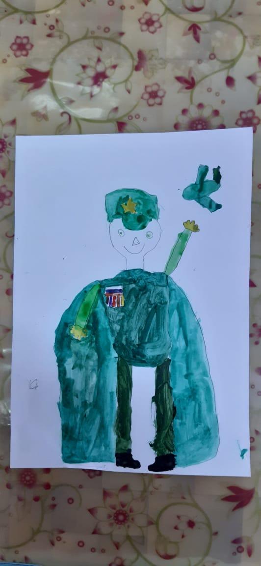 Военная форма будущего глазами наших детей