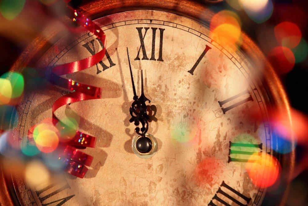 New years countdown  новогодние персонажи наборы гаджетов.