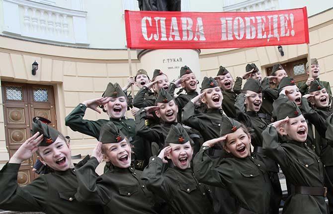 Акция в честь Дня Победы